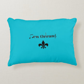 New Orleans Jazz Music Personalized Pillow