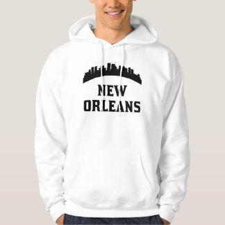 New Orleans LA Skyline Hoodie