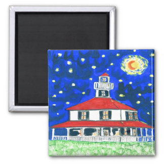 New Orleans Lighthouse,Lakeshore Magnet