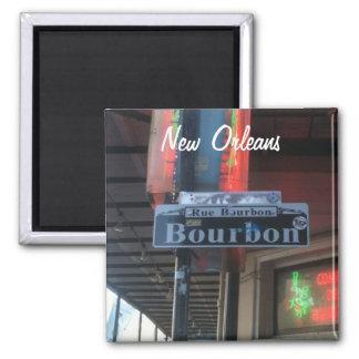 New Orleans Louisiana Bourbon Street Magnet