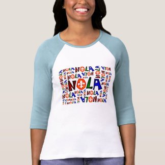 NEW ORLEANS LOUISIANA GRAPHIC T SHIRT