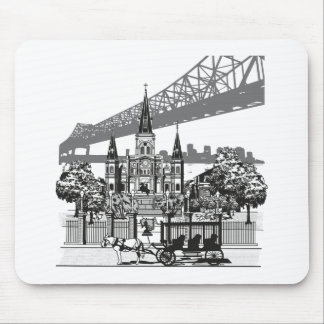 New Orleans Louisiana Mouse Pad