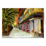 New Orleans Louisiana Pirates Alley French Quarter Card