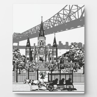 New Orleans Louisiana Plaque