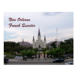 New Orleans, Louisiana St. Louis Cathedral Postcard