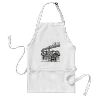 New Orleans Louisiana Standard Apron