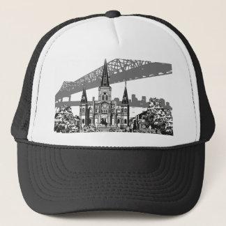 New Orleans Louisiana Trucker Hat