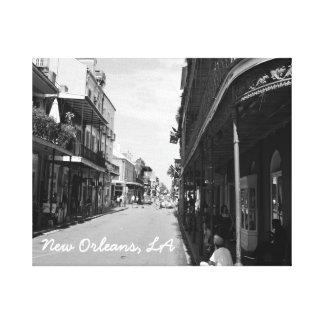 New Orleans Louisianna on Canvas Canvas Print