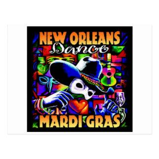 New Orleans Mardi Gras #010 Postcard