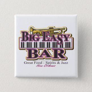 New Orleans Mardi Gras 15 Cm Square Badge