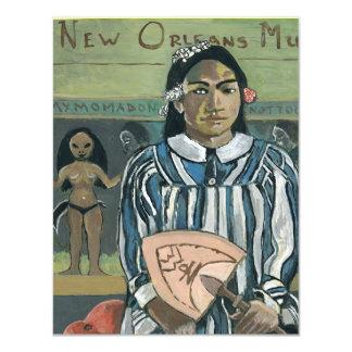 New Orleans Music 11 Cm X 14 Cm Invitation Card