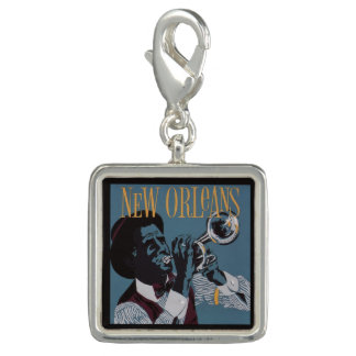 New Orleans Music charm / wristlet