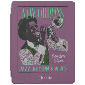 New Orleans Music custom name device covers iPad Cover
