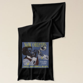 New Orleans Music scarf