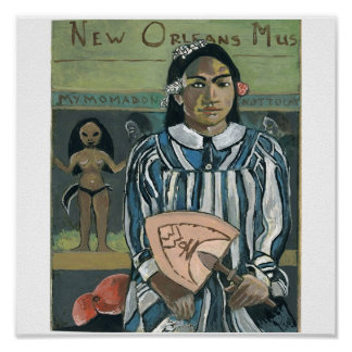 New Orleans Music: WWOZ Fan Poster
