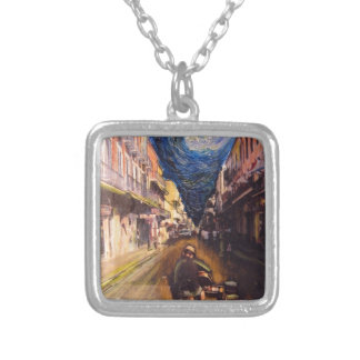 New Orleans Musician 2006 Silver Plated Necklace