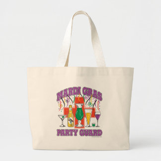 New Orleans Party Guard Jumbo Tote Bag