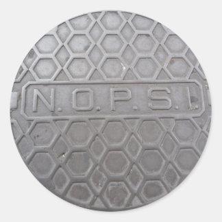 New Orleans Public Service Inc. (NOPSI) Classic Round Sticker