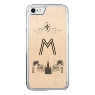 New Orleans Scene Carved iPhone 8/7 Case