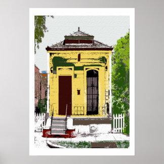 New Orleans Shot Gun Home Poster