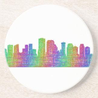 New Orleans skyline Coaster