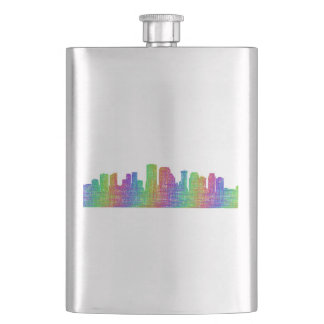 New Orleans skyline Flasks