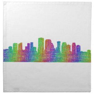 New Orleans skyline Napkin