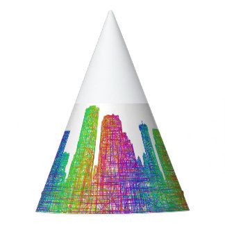 New Orleans skyline Party Hat