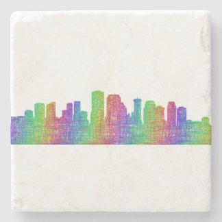 New Orleans skyline Stone Coaster