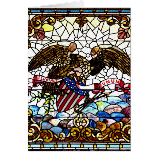 New Orleans Stained Glass 1881 Greeting Card