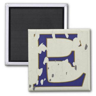 """New Orleans Street Letter Tile """"E"""" Magnet"""