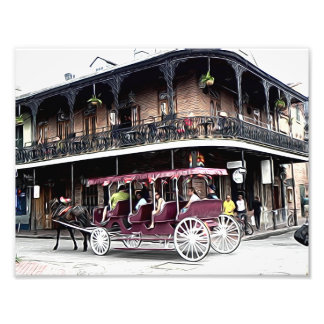 New Orleans street scene - print Photo