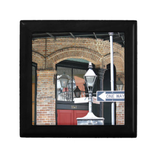 New Orleans Street Scene Small Square Gift Box