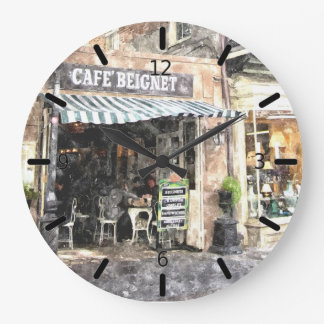 New Orleans Street Scene Wall Clock