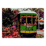 New Orleans Streetcar Fauvist Colours