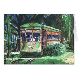 New Orleans Streetcar Hanukkah Card