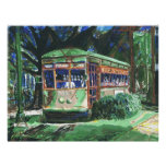 New Orleans Streetcar Painting Posters