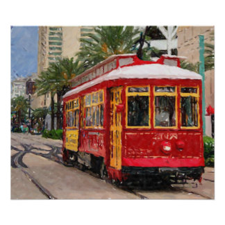 New Orleans Streetcar Print