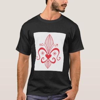 New Orleans Voodoo Fleur de Lis RED T-Shirt