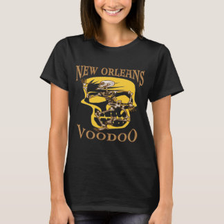 New Orleans Voodoo Skull & Skeleton T-Shirt