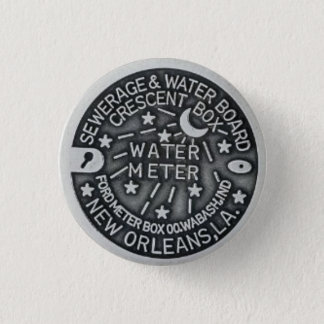 New Orleans Water Meter Button