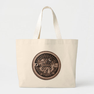 New Orleans Water Meter Cover Jumbo Tote Bag