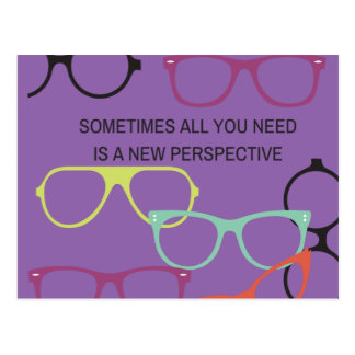 New Perspective Motivational Post Cards