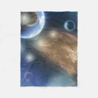 New Planets Fleece Blanket
