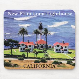 New Point Loma Lighthouse, California Mousepad