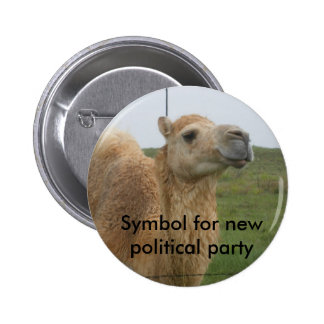 New Political Party 6 Cm Round Badge