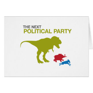 New Political Party Greeting Card