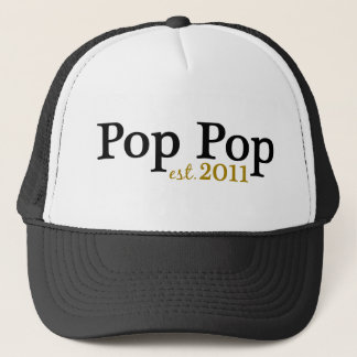 New Pop Pop est 2011 Trucker Hat