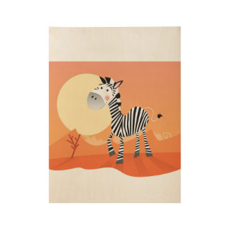New poster in Shop : with Africa Zebra