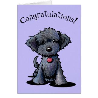 New Puppy Congratulations Card